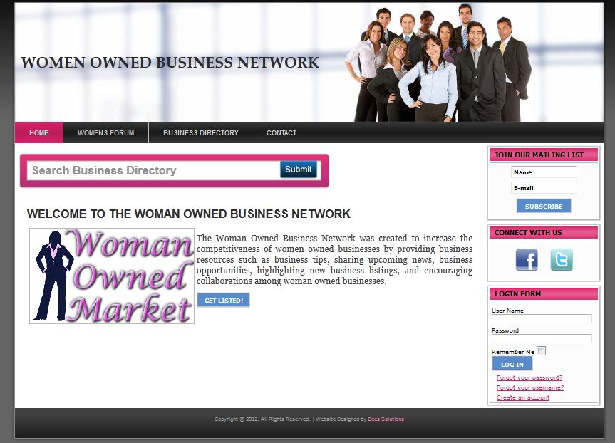 Woman Owned Business Directory